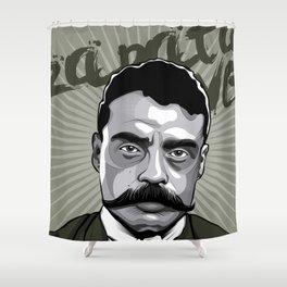 Emiliano Zapata - Trinchera Creativa Shower Curtain