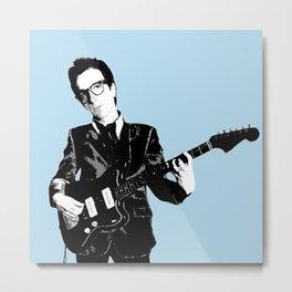 Elvis Costello Metal Print