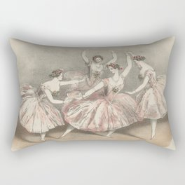 Ballet Rectangular Pillow