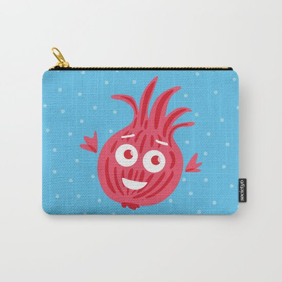 Cute Red Onion Carry-All Pouch
