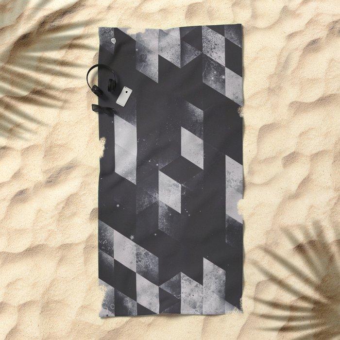 dyy blyckk fryydyy Beach Towel
