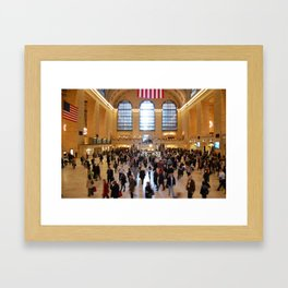 Grand Central Station, New York City Framed Art Print