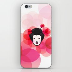 Geisha Icon iPhone Skin