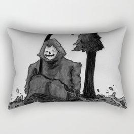 need a break Rectangular Pillow