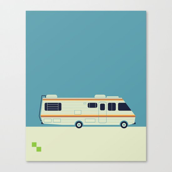 The Breaking Bad RV Canvas Print