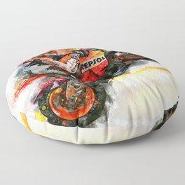 Nicky Hayden Floor Pillow