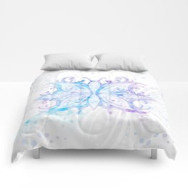 Butterfly Abstract G540 Comforters