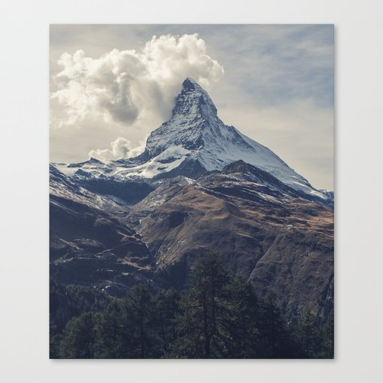 Eiger Canvas Print