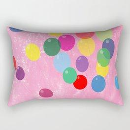 Balloons in a Cotton Candy Sky Rectangular Pillow