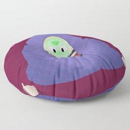 Peri in a blanket Floor Pillow