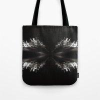 bender Tote Bags featuring Light Bender by Sloane Dakota