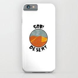 Gobi Desert  TShirt Deserts Shirt Sand Dune Gift Idea iPhone Case