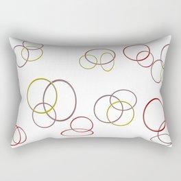Circles of joy Rectangular Pillow