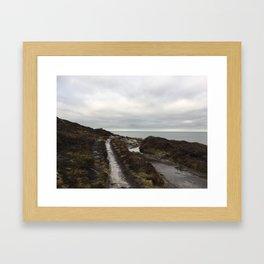 Anglesey - The beaten track Framed Art Print