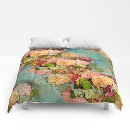 ROSES SO ROMANTIC Comforters
