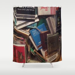 matchbook collection Shower Curtain