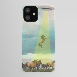 They too love horses iPhone Case