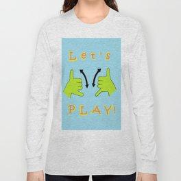 ASL Let's PLAY! Long Sleeve T-shirt