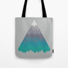 Many Mountains Tote Bag
