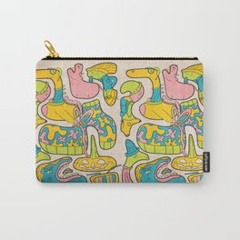 Blobs Carry-All Pouch