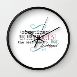 A Chipped Cup Wall Clock