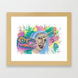 Buff Ting Framed Art Print
