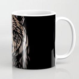 Tribal Frontal bear Coffee Mug