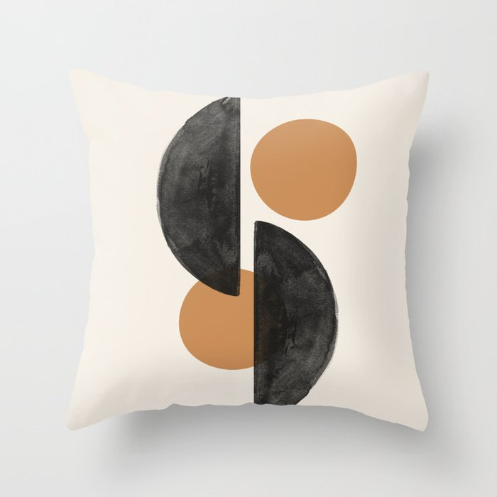 Mind Century Modern Throw Pillow