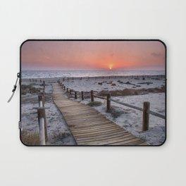 """""""To the beach...""""Cabo de Gata"""". Laptop Sleeve"""
