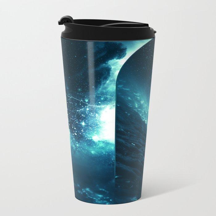 Cosmic Storm Metal Travel Mug