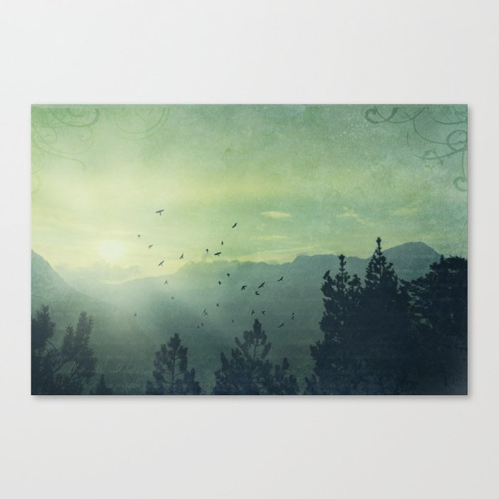 Spielerei Canvas Print