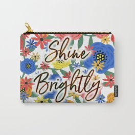 Shine Brightly Carry-All Pouch