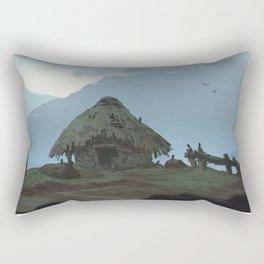 Hut Rectangular Pillow