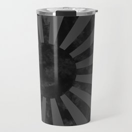 Black Japan Empire Flag Travel Mug