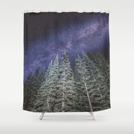 Lightyears - Milkyway Forest Shower Curtain