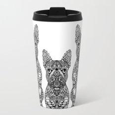 Mandala Frenchie Travel Mug