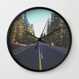 Forrest Road Wall Clock