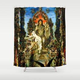 "Gustave Moreau ""Jupiter and Semele"" Shower Curtain"