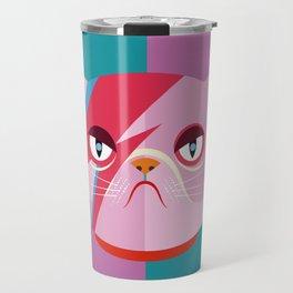 Glam cat Travel Mug