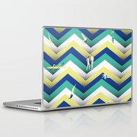 swim Laptop & iPad Skins featuring Swim by Salomé Milet