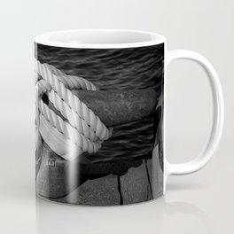 Mooring Rope tied to the dock Coffee Mug