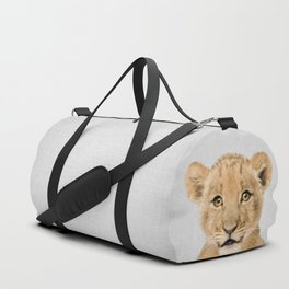 Baby Lion - Colorful Duffle Bag