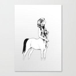 horses for courses I Canvas Print
