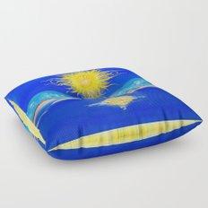 Sacred Sun Floor Pillow