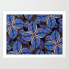 Fantasy Nature Pattern Print  Art Print