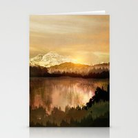 sunrise Stationery Cards featuring Sunrise by Viviana Gonzalez