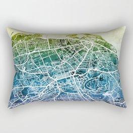Edinburgh Scotland Street Map Rectangular Pillow