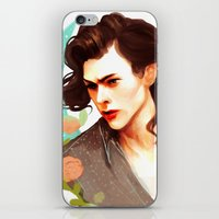 harry styles iPhone & iPod Skins featuring Harry Styles by chazstity