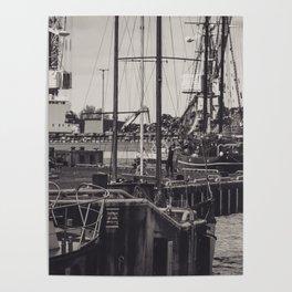 Hafen Wismar Poster