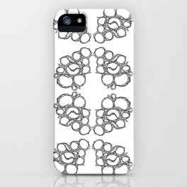 Honeycombs 2 iPhone Case